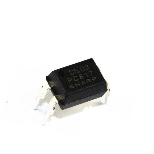 10X Optocoplador SHARP PC817 DIP4