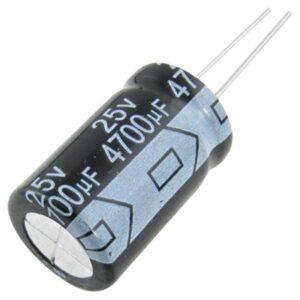 3x Condensador electrolitico 4700uF 25V 105º C