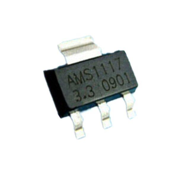 5 X AMS1117 SMD REGULADOR DE TENSIÓN 3.3V 3,3V 1A