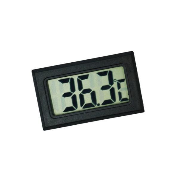 Termometro digital temperatura lcd nevera congelador exterior Negro