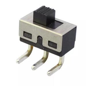 2x Interruptor deslizante On Off SS12D06 90º