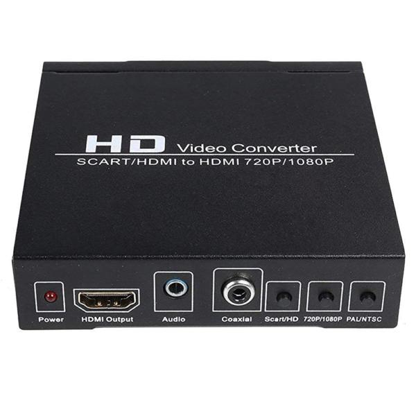Convertidor de Video Scart a HDMI Scart2HDMI