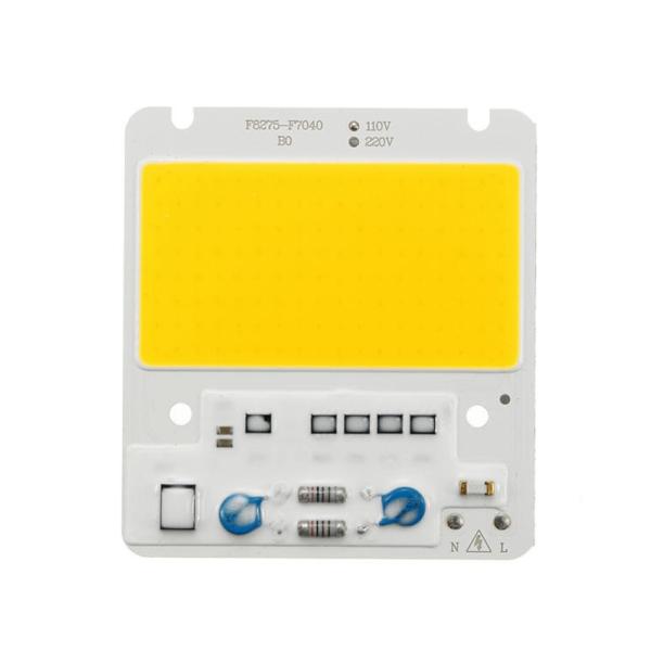 LED de alta potencia luz blanca 50W 220V