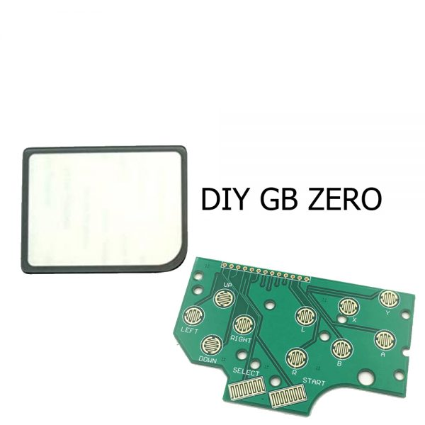 Placa PCB + pantalla vidrio Game Boy DMG - Zero