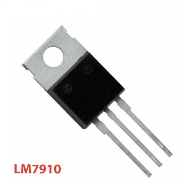 5x Regulador tension negativa L7910CV LM7910 7910 10V TO-220