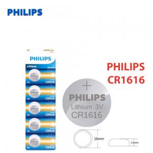 1x Pila de boton PHILIPS bateria original Litio CR1616 3V