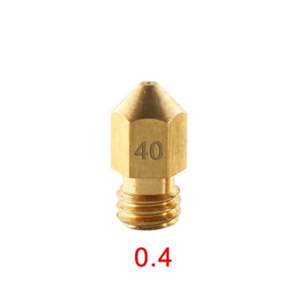 Boquilla Extrusora MK8 0.4mm 1.75mm Reprap Makerbot 3d REF1983