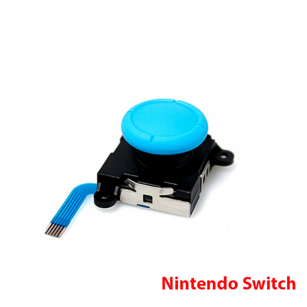 JOYSTICK MANDOS NINTENDO SWITCH JOY-CON FLEX STICK JOYCON MOVIMIENTO REPUESTO azul