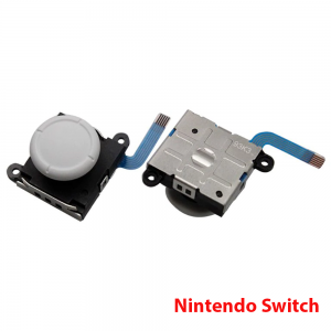 JOYSTICK MANDOS NINTENDO SWITCH JOY-CON FLEX STICK JOYCON MOVIMIENTO REPUESTO BLANCO