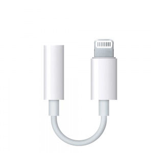 Adaptador Compatible con Apple Lightning a Jack 3.5mm iPhone iPad ref2002