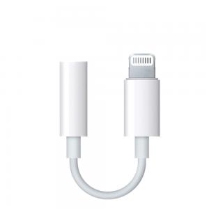 Adaptador Compatible con Apple Lightning a Jack 3.5mm iPhone iPad ref2002