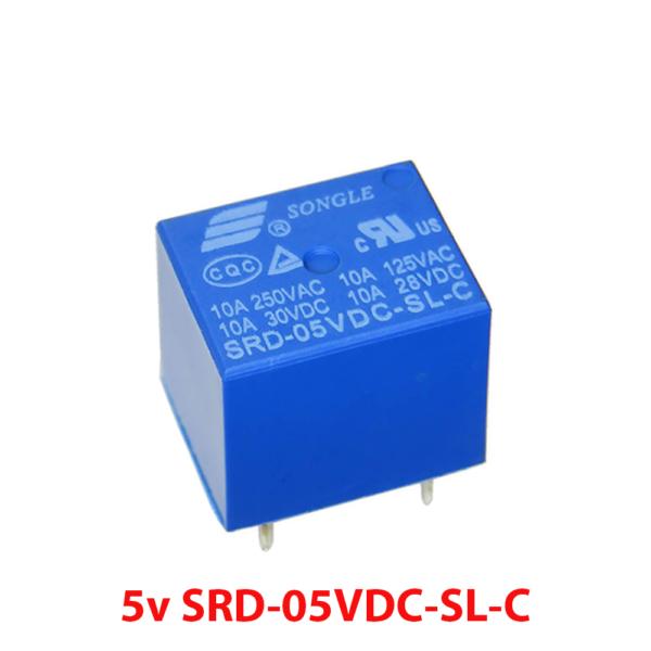 Rele 5v 10A SRD-05VDC-SL-C PCB soldar superficie REF2034