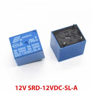 Rele 12v 10A SPDT - SRD-12VDC-SL-A REF2036