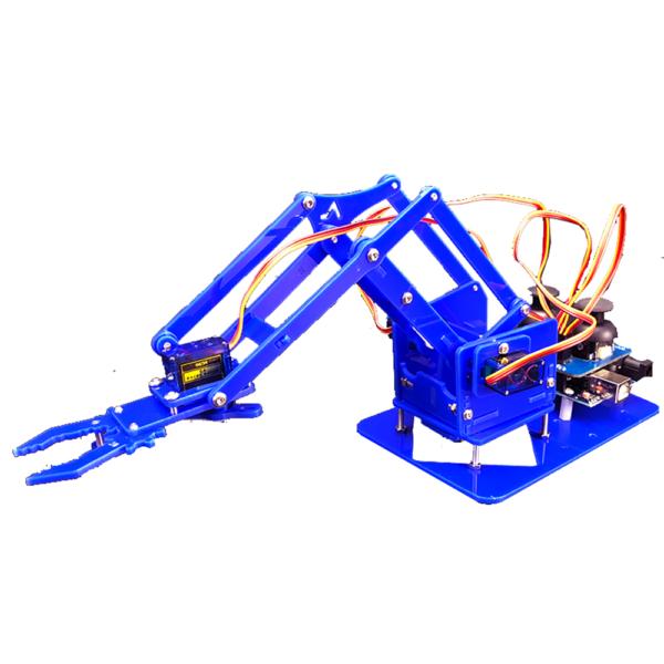 Kit de aprendizaje brazo robótico acrílico arduino 4 DOF