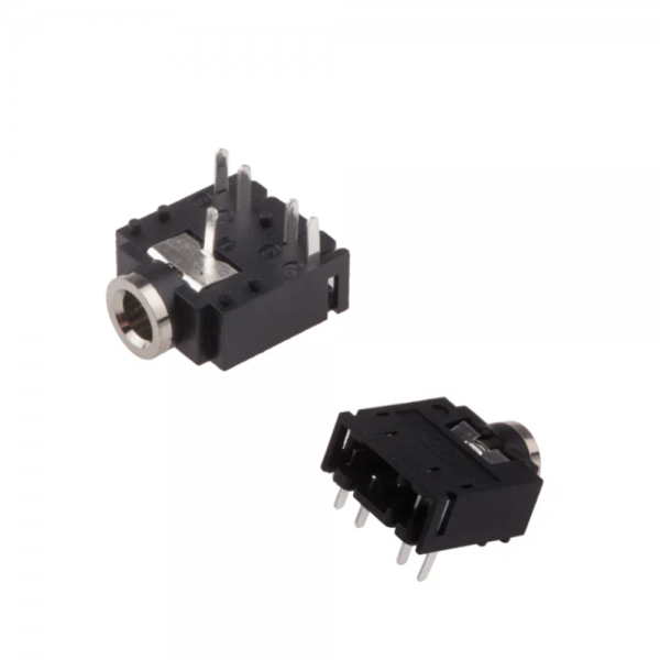 2x Conector Jack Hembra stereo 3.5mm Chasis
