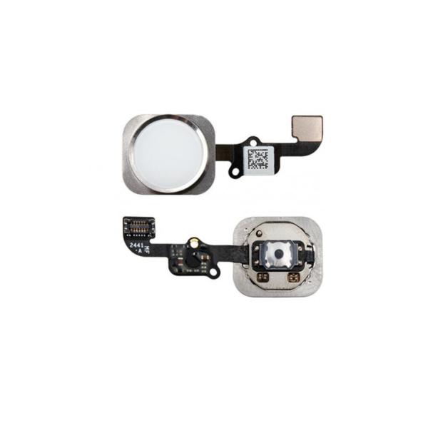 Boton Home iPhone 6 Blanco Cable Flex Menu Huella Touch ID Inicio 6G