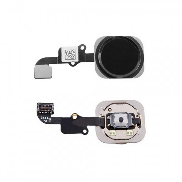Boton Home iPhone 6 Negro Cable Flex Menu Huella Touch ID Inicio 6G