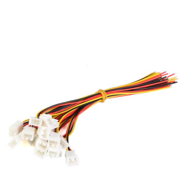 2x Pareja Cable conector XH 2.54mm macho y hembra 6 pin carga de batería JST 20CM 1007-26 AWG REF2071
