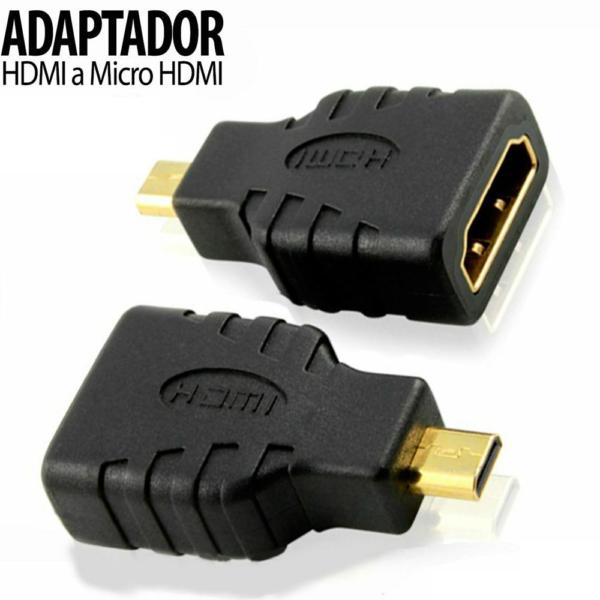 Adaptador HDMI Hembra a MICRO HDMI Macho REF2085