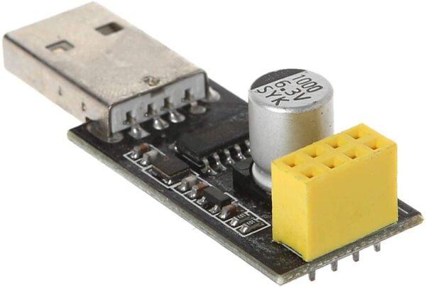 ESP-01 Adaptador programador USB a ESP8266 placa de desarrollo REF2108